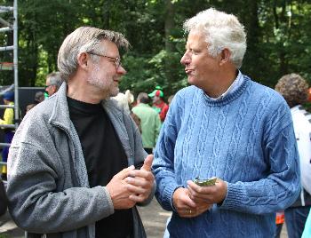 Twee vaders, de ene regisseur en de ander burgemeester.
